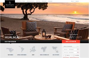 Four Seasons Hotels site