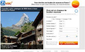 Zivac : location vacances