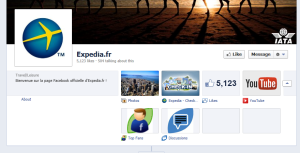 positionnement marketing expedia