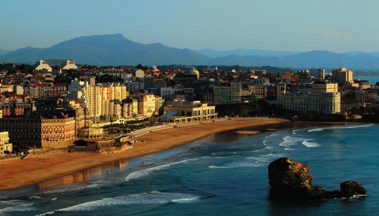 biarritz ville plus chere de france pour une nuit d'hotel