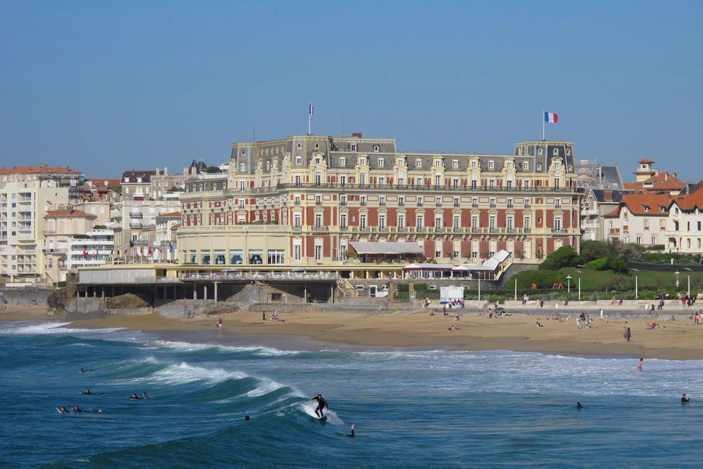 Jean luc cousty nouveau directeur g n ral de l h tel du - Prix chambre hotel du palais biarritz ...