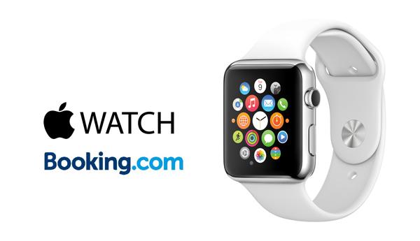 applewatch booking.com