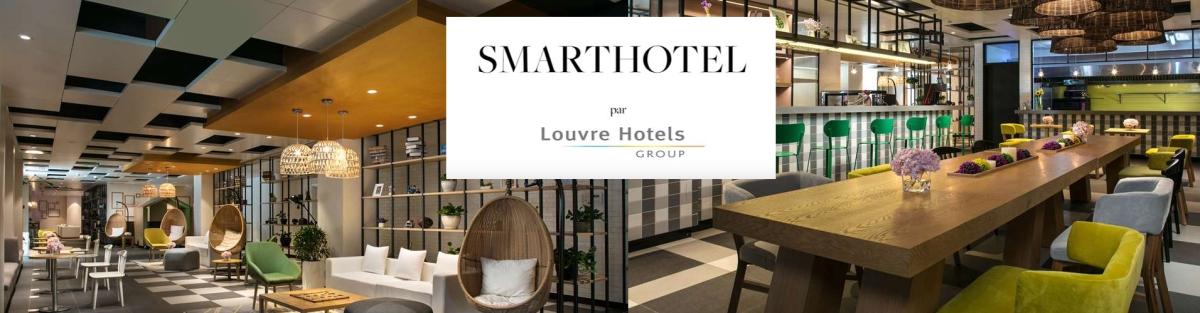 """SmartHotel - le nouveau label des """"hôtels intelligents"""" du groupe Louvre Hotels Group"""