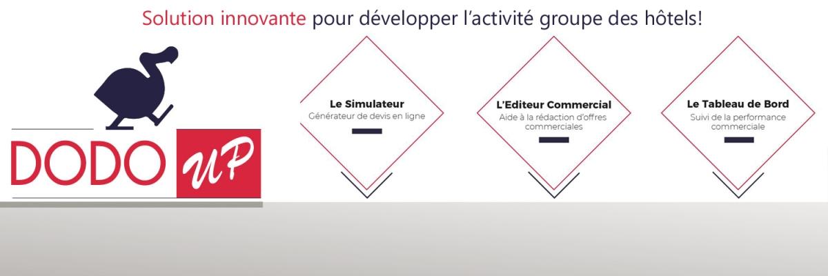 Dodo-Up, la solution innovante pour développer l'activité groupe des hôtels
